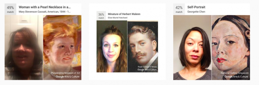 Googles New Feature Matches Your Selfie With Classical Art Portraits
