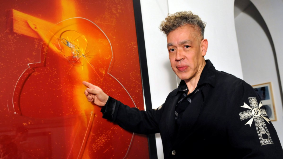 based on andres serrano's piss christ Last week, andres serrano's photograph piss christ, on display at the  so jesus  transforms humanity he takes our base and vile hearts and,.